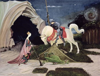 St. George and the Dragon, Five Minutes Later Kunsttryk