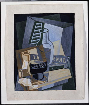Still Life in Front of a Window, 1922 Reproduction de Tableau