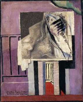 Still Life in front of Balcony; Nature Morte devant le Balcon, 1929 Reproduction de Tableau