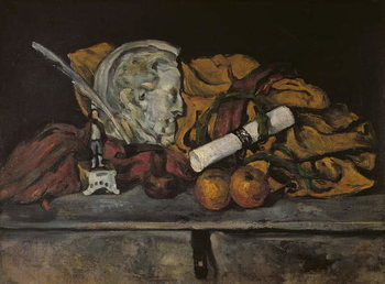 Still Life of the Artist's Accessories, 1872 Reproduction de Tableau