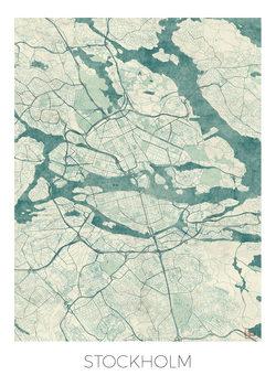 Stadtkarte von Stockholm