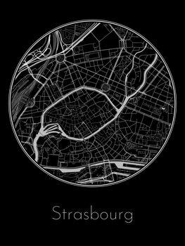 Mapa de Strasbourg