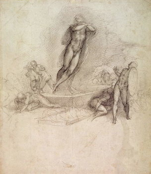 Study for an Ascension Reproduction de Tableau