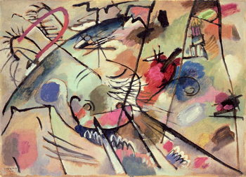 Study for Improvisation 24, 1912 Kunsttryk