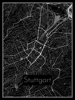 Mapa de Stuttgart