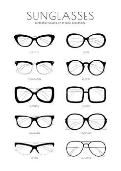 Ilustrácia Sunglasses