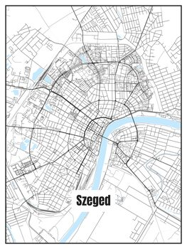Carte de Szeged