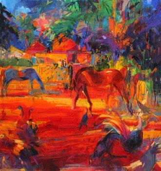 Reproducción de arte Tahiti Pastoral, 2011