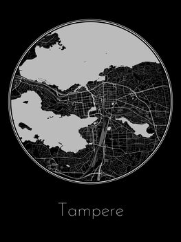 Mapa de Tampere