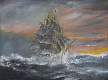 Reproducción de arte Terra Nova in fierce Gale at dawn Dec 2nd 1910, 2007,