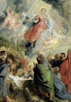 The Assumption of the Virgin Mary Kunstdruck