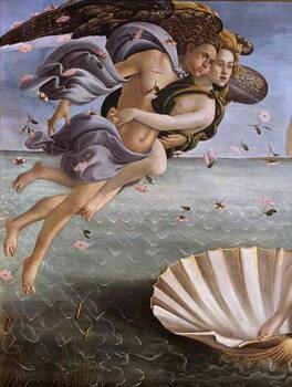 The birth of Venus (detail), 1484 Reproduction de Tableau