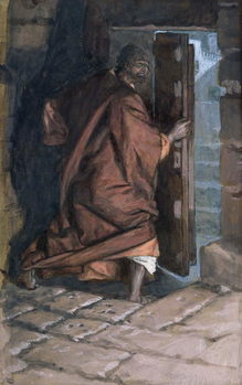 Reproducción de arte The Departure of Judas, illustration for 'The Life of Christ', c.1884-96