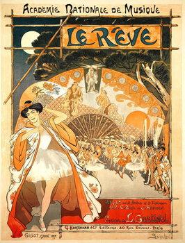 Reproducción de arte The Dream, 1891