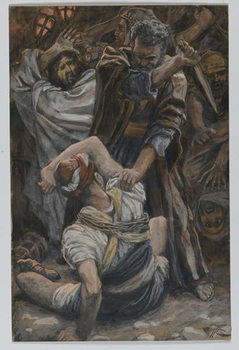 Reproducción de arte The Ear of Malchus, illustration from 'The Life of Our Lord Jesus Christ', 1886-94