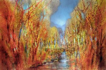Ilustrácia The forests colourful