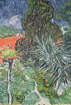 The Garden of Doctor Gachet at Auvers-sur-Oise, 1890 Kunsttryk