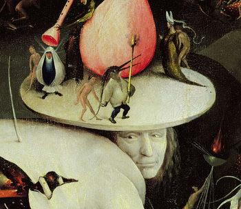 The Garden of Earthly Delights, 1490-1500 Kunstdruk