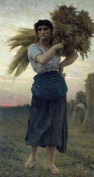 Reproducción de arte The Gleaner, 1877