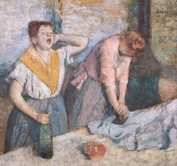 The Laundresses, c.1884 Kunstdruck