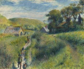 The Mussel Harvest, 1879 Kunstdruck