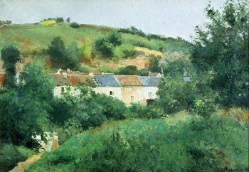 The Path in the Village, 1875 Reproduction de Tableau