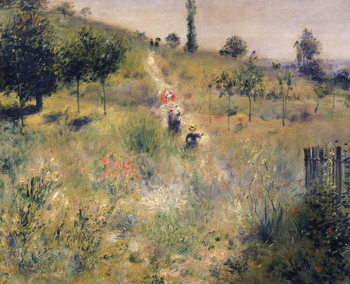 Reproducción de arte The Path through the Long Grass, c.1875