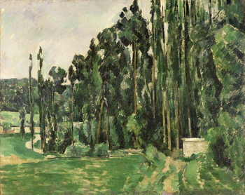 The Poplars, c.1879-82 Kunstdruck