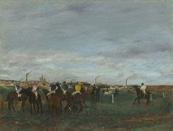 The Races, 1871-2 Kunstdruck