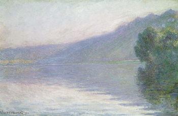 The Seine at Port-Villez, 1894 Reproduction de Tableau