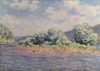 The Seine at Port-Villez, c.1890 Reproduction de Tableau