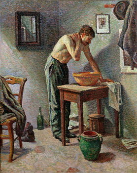 Reproducción de arte The Toilet, 1887