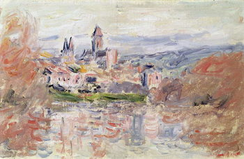 The Village of Vetheuil, c.1881 Reproduction de Tableau