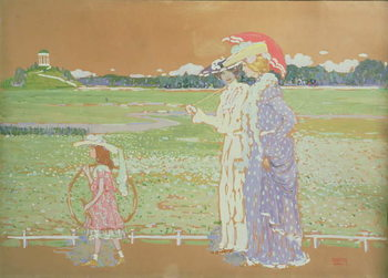 The Walk, 1903 Kunstdruk