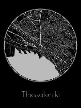 Mapa de Thessaloniki
