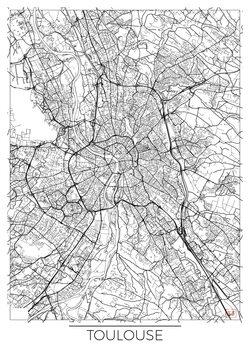 Mapa de Toulouse