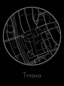 Mapa de Trnava