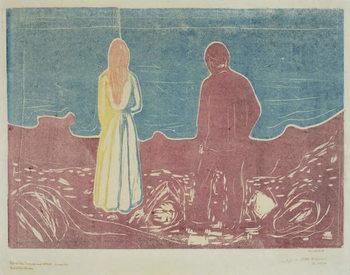 Reproducción de arte Two People, 1899