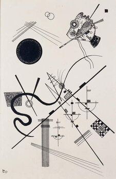 Untitled (Drawing 4); Untitled (Dessin 4), 1924 Kunstdruck