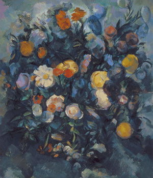 Vase of Flowers, 19th Kunstdruck