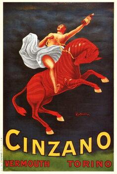 Vermouth Cinzano Obrazová reprodukcia