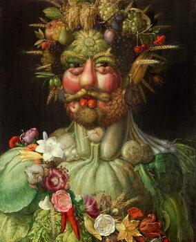 Vertumnus, 1591 Kunstdruck