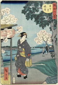 Vesper Bells at Cho_mei-ji Temple, November 1861 Kunstdruck
