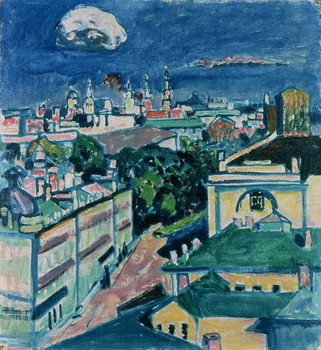 Reproducción de arte View of Moscow