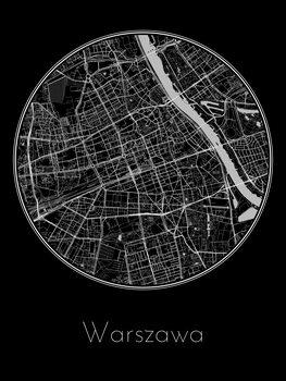 Mapa de Warszawa