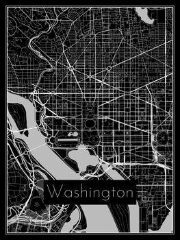 Mapa de Washington
