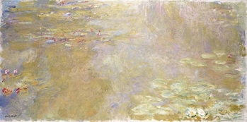 Waterlily Pond, c.1917-1919 Kunstdruk