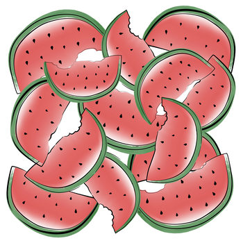 Ilustración Watermelon