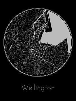Mapa de Wellington