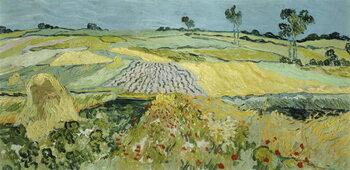 Reproducción de arte Wheatfields near Auvers-sur-Oise, 1890
